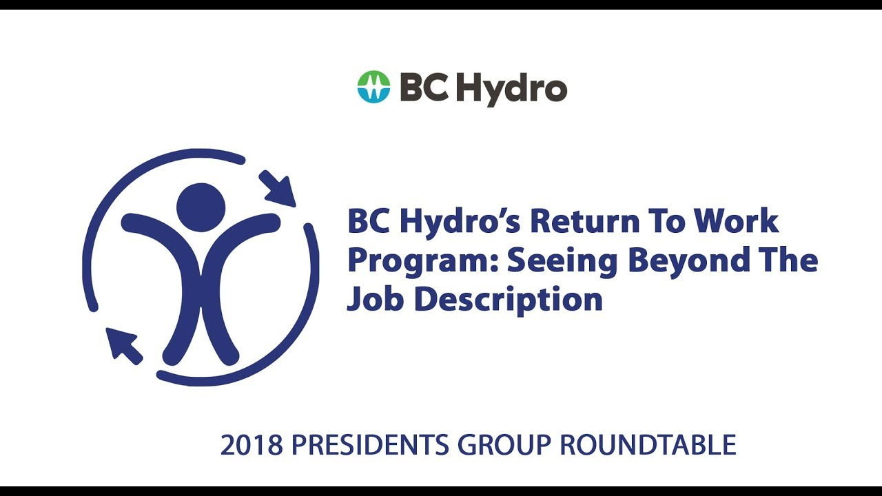 BC Hydro's Profile - Accessible Employers