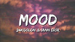 ♪ 24kGoldn & Iann Dior - Mood | slowed & reverb (Lyrics)