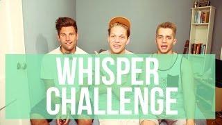 THE WHISPER CHALLENGE | JOEY GATTO, STEPHENNJ, JOSHSOBO