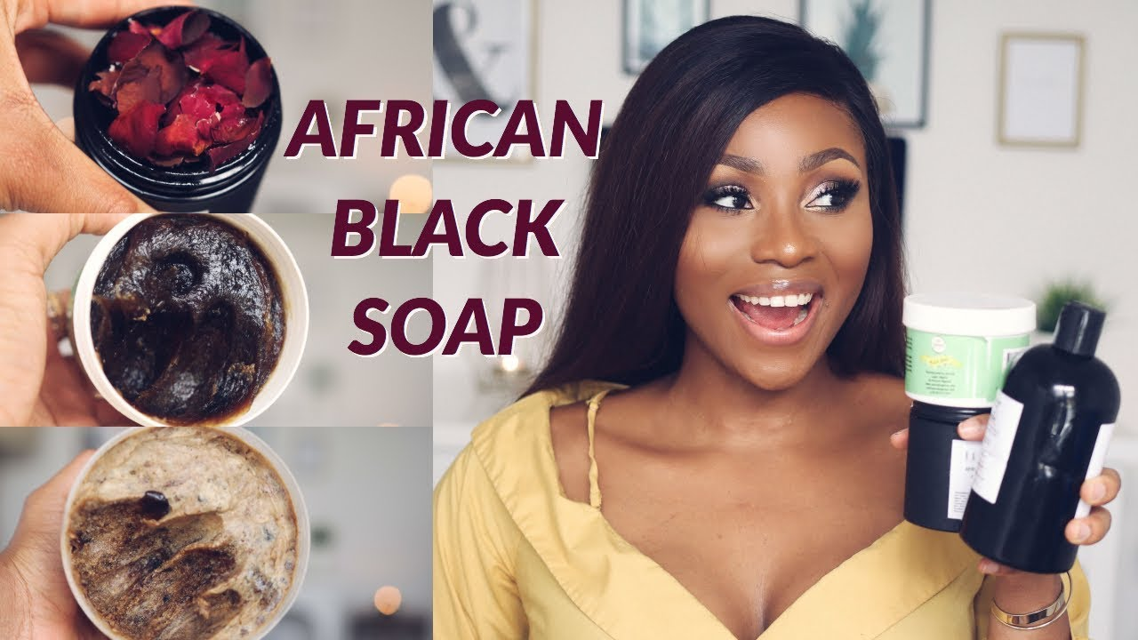 MY SECRET TO GLOWING SKIN | 5 BLACK SOAPS THAT YOU SHOULD TRY NOW! | DIMMA UMEH