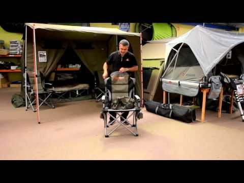 Oztent King Kokoda Chair Review Parker Knoll Dining Chairs How To Pack Up An Australia Youtube