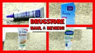 Drugstore Haul & Review: Skincare, St.Ives, Clean & Clear, Cetaphil
