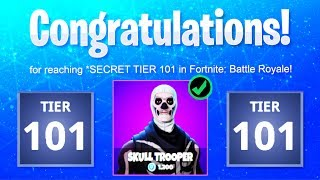 What happens if you BUY TIERS at TIER 100? SECRET TIER 101! (Fortnite Season 5 Buying past MAX TIER)