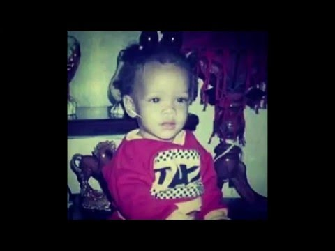 Rihanna as a Child