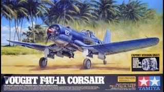 Tamiya : Vought F4U-1A Corsair : 1/32 Scale Model : In Box Review