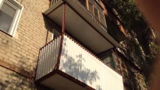 Ремонт балкона видео 2(Второе видео о проделанной работе по ремонту балконной плиты г.Энгельс Ул.Полиграфическая., 2014-10-04T18:32:21.000Z)