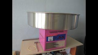 Аппарат сахарной ваты Gastrorag hec-02 обзор