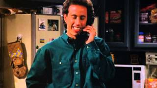 Seinfeld can't open the garage