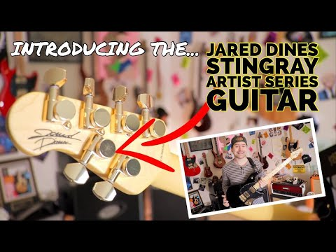 Introducing the Jared Dines StingRay Artist Series Guitar