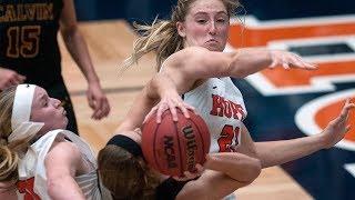 Hope College v. Adrian College - NCAA D3 Women's Basketball thumbnail