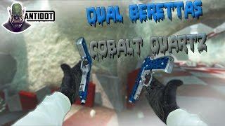 CS:GO - Dual Berettas | Cobalt Quartz Gameplay