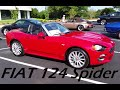 2017 Fiat 124 Spider First Look: Cars and Coffee