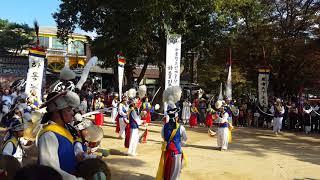 남이섬 풍물 전통 사물놀이 공연 (하동 청소년 예술단)