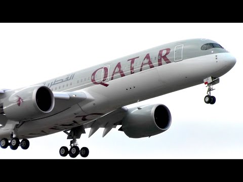 Qatar Airways INAUGURAL FLIGHT to Helsinki with A350