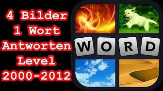 4 Bilder 1 Wort - Level 2000-2012 - Löse 4 Rätsel aus dem Bereich