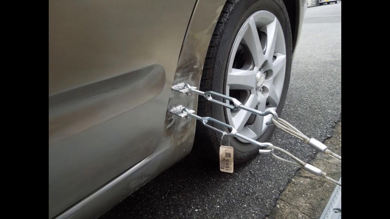 へこみ 修理 車