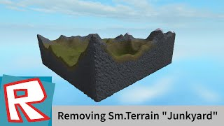 "[ROBLOX Tutorial] - How to get rid of Smooth terrain ""junkyard"" (Please read desc)"