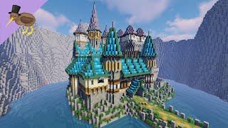 Minecraft Medieval Fantasy Castle Tutorial YouTube