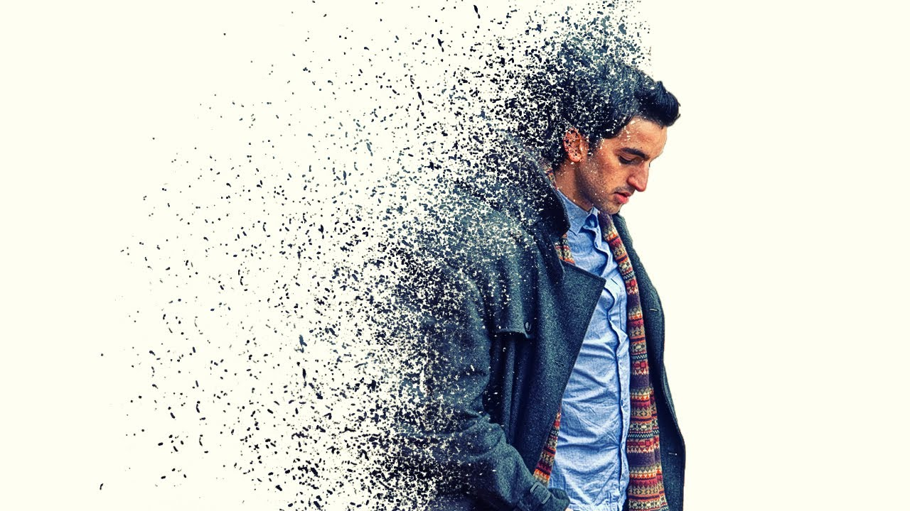 Particle Dispersion Effect Photoshop Tutorial Cs6 Cc