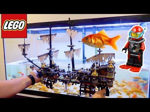 LEGO GOLDFISH CITY AQUARIUM!