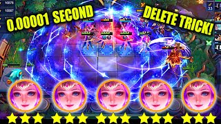 NEW TRICK HOW TΟ DELETE ENEMIES 0.00001 SECONDS?UNLIMITED ODETTE BOOKS THARZ 3RD SKILL NEW META INDO