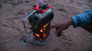 Part 1- Overland Camping In Our VW Syncro, Firebox Cooking, Baking & Roasting!