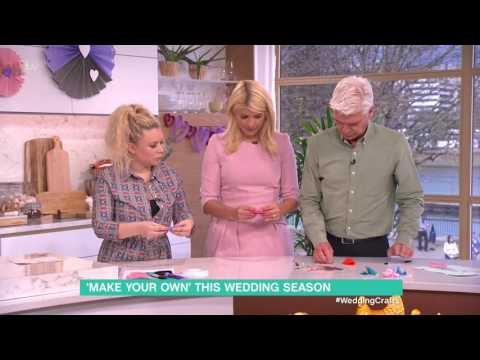 Wedding Crafts – Felt Fortune Cookies | This Morning