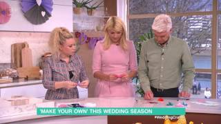 Wedding Crafts - Felt Fortune Cookies | This Morning