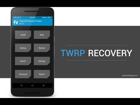 How to install latest Twrp recovery 3 2 1 for any mtk device
