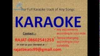 Sara Pyaar Tumhara   Kishore Kumar Karaoke Track