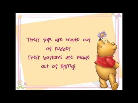 Wonderful Thing About Tiggers Lyrics (Winnie the Pooh HD)