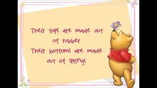 Wonderful Thing About Tiggers Lyrics (Winnie the Pooh HD)