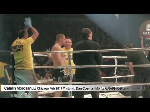 SPORT | Catalin Morosanu interviu in Chicago - GLORY 38 kickboxing Feb 2017