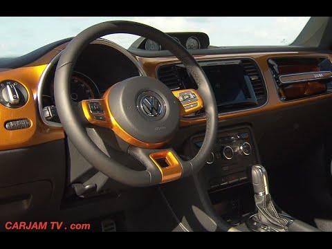New VW Beetle DUNE INTERIOR 2015 On Sale VW A5 Beetle Dune Commercial CARJAM TV 2014