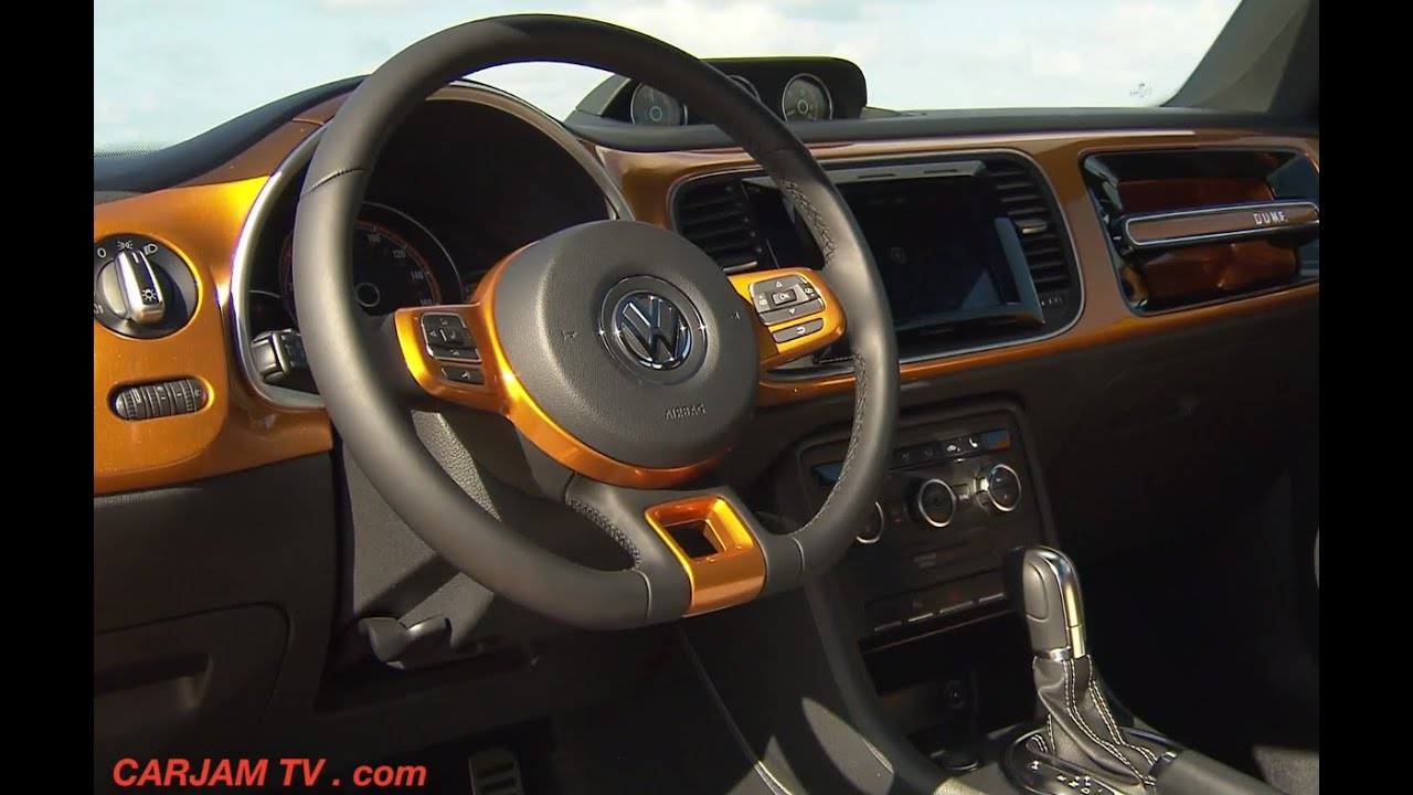 New VW Beetle DUNE INTERIOR 2015 On Sale VW A5 Beetle Dune ...