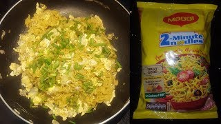 How to make maggi with egg | Maggi noodles | maggi noodles 2 minutes | egg noodles easy recipe