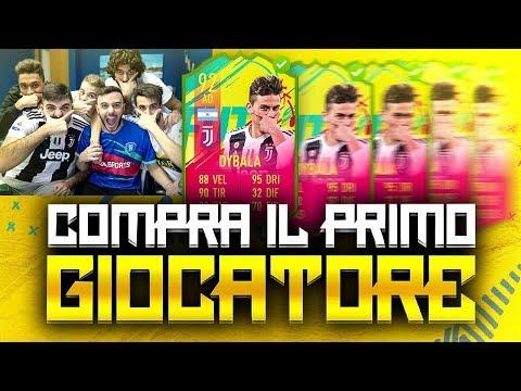 😍PAULO DYBALA!!! COMPRA IL PRIMO GIOCATORE su FIFA 19 w/Tatino23, Ohm ed Enry Lazza