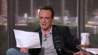 Hank Azaria, as various Simpsons characters,  reads ump's statement about ejected Phillies fan