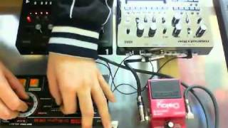 DR-55 + monotribe Demo - 6bot / BakaOscillator