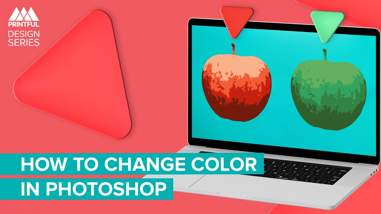 How to Change the Colors in Your Design in Adobe Photoshop: Printful Design Series
