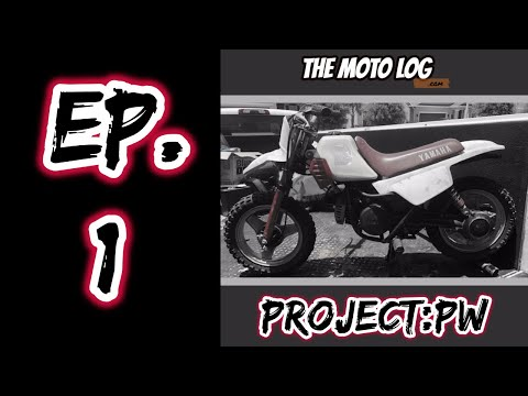 The Moto Log- Project:PW Yamaha Pw50 review and rebuild Episode 1!!!!