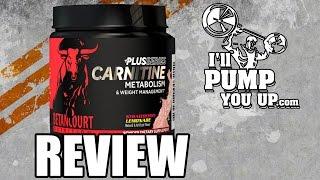 Betancourt Nutrition - Carnitine Plus Supplement Review & Taste Test