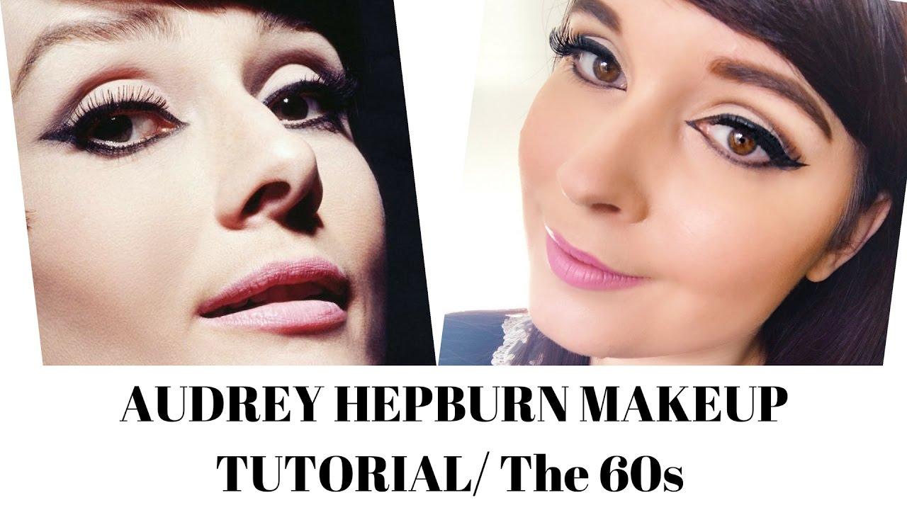 Audrey Hepburn Inspired Makeup Tutorial Using Drugstore Makeup