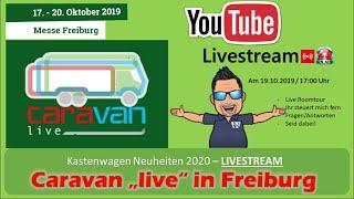 LIVE Kastenwagen Roomtour von der Caravan Live in Freiburg   Kastenwagen Neuheiten 2020 của VanFan Phát trực tiếp 52 phút trước 45 phút 413 lượt xem