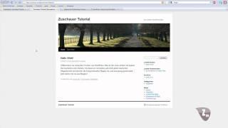 Homepage Tutorial Wordpress Teil 2 - Installieren , Themes und Widgets [German/Deutsch] thumbnail