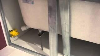 Зашивка ванны гипсокартоном(Это видео создано с помощью видеоредактора YouTube (http://www.youtube.com/editor), 2014-07-03T14:57:13.000Z)
