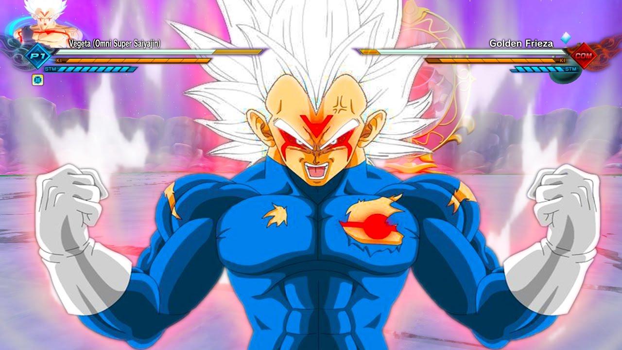 Royal Omni Super Saiyan Vegeta Dragon Ball Xenoverse 2 Dlc Mod
