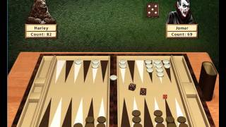Hoyle Board Games 2002: Backgammon