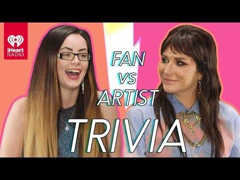 Download Kesha Goes Head to Head With Her Biggest Fan! | Fan Vs Artist Trivia Mp4 baru