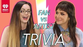 Kesha Goes Head to Head With Her Biggest Fan! | Fan Vs Artist Trivia